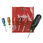 Xcelite M-60V 6-Piece Mini-driver Kit - Inch Sizes