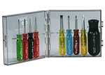 Xcelite PS-88V 9-Piece Compact Convertible Screwdriver Set - Inch Sizes