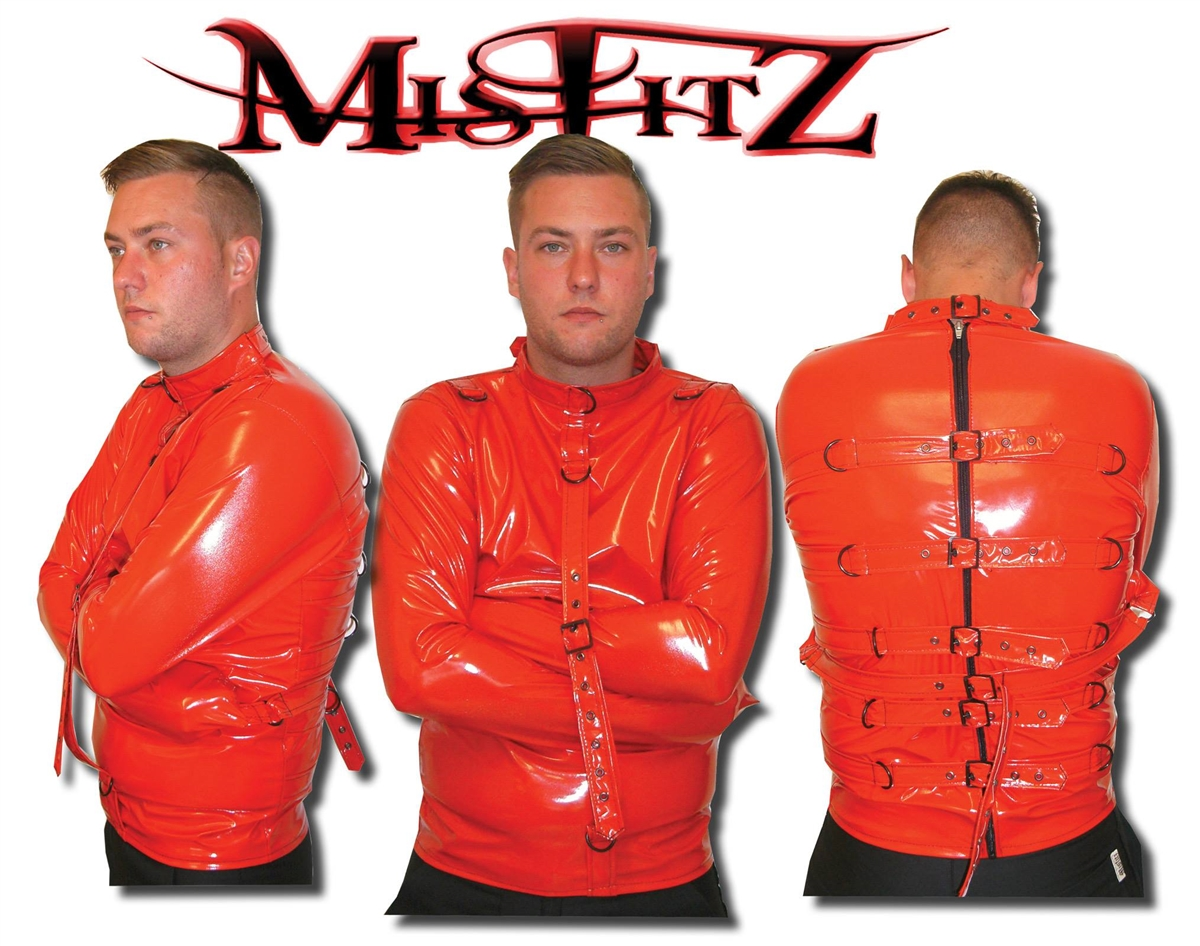Orange Straight Jacket