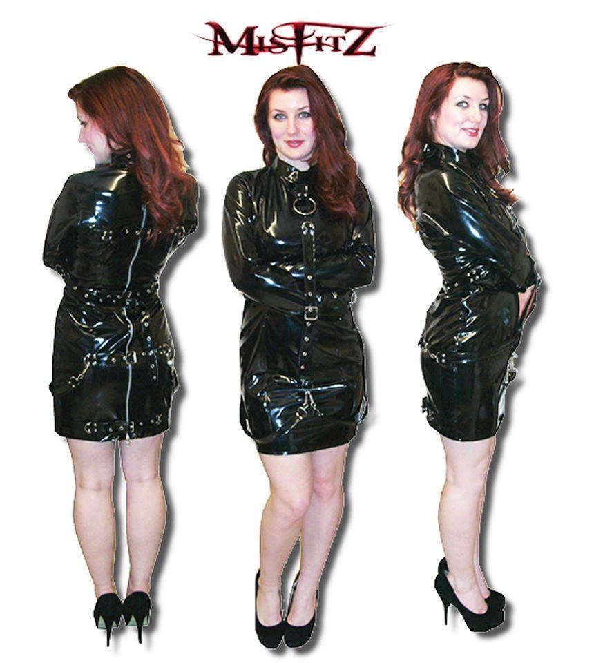 Latex strait jacket
