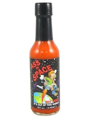 Ass In Space Hot Sauce
