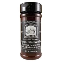 Historic Lynchburg Tennessee Whiskey Cajun Blackening Spice and Seasoning
