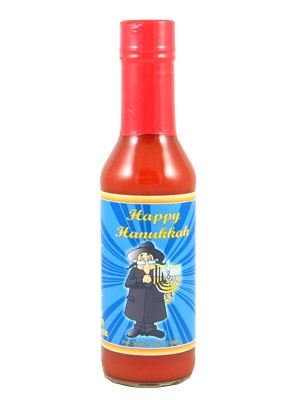 Happy Hanukkah Hot Sauce