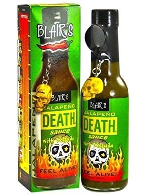 Blair's Jalapeno Death Sauce with Tequila