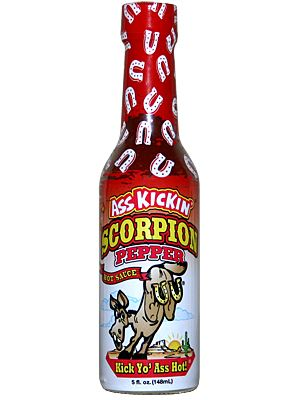 Ass Kickin' Scorpion Pepper Hot Sauce