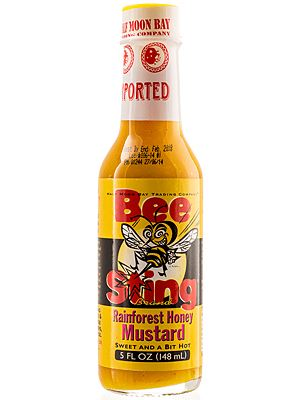 Bee Sting Rainforest Honey Mustard Hot Sauce