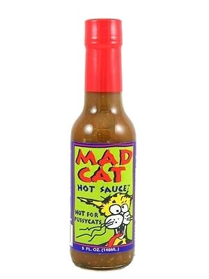 Mad Cat Hot Sauce, Not For PussyCats!
