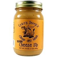 Crazy Jerry's Cheap @$$! Label Spicy Cheese Dip