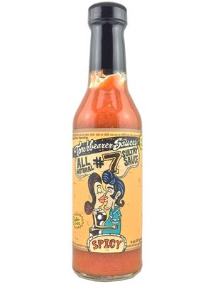 Torchbearer All Natural #7 Sultry Spicy Hot Sauce
