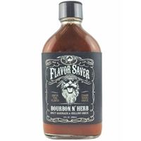 Flavor Saver Bourbon N' Herb Hot Sauce and Marinade
