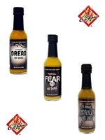 Cajohn's Formidable Hot Sauce 3 Pack