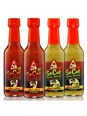 SoCal Hot Sauce Complete 4 Pack