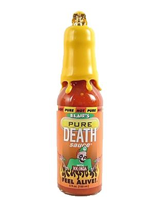 Blair's PRE Pure Death Collector's Naga Hot Sauce