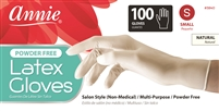 Annie Latex Gloves Powder Free, 100Ct