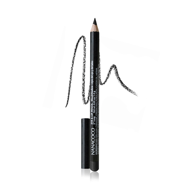 Nanacoco Classic Wood Eye and Lip Pencil