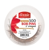 "Annie Bob Pins 2"", 300 ct, Asst Colors"