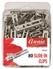 Annie Slide-In Clips, 80ct