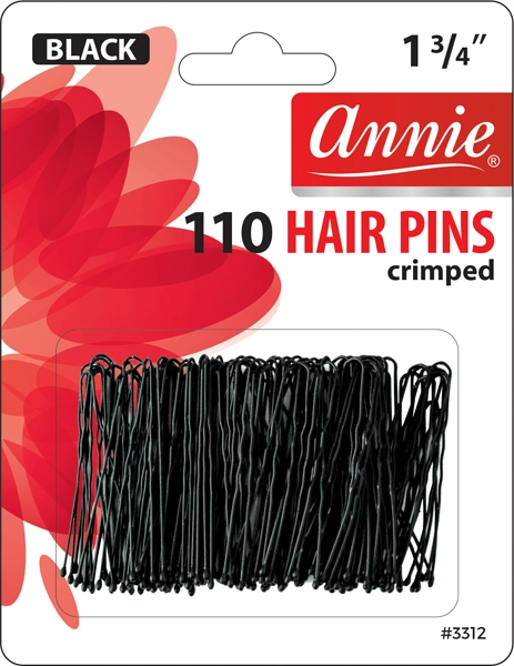 "Annie Hair Pins 1 3/4"", 110 ct, Asst Colors"
