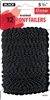 "Annie Braided Ponytailers 5.5"", 12 ct, black"