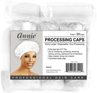 Annie Processing Caps, Clear 30ct