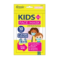 Annie Sterile Children's Face Mask 10ct Soft Pink