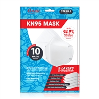 Annie 3D KN95 Face Mask One Size 10ct White