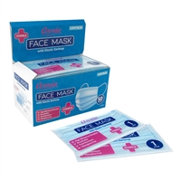 Annie Sterile Face Mask One Size Individually Wrapped 50ct