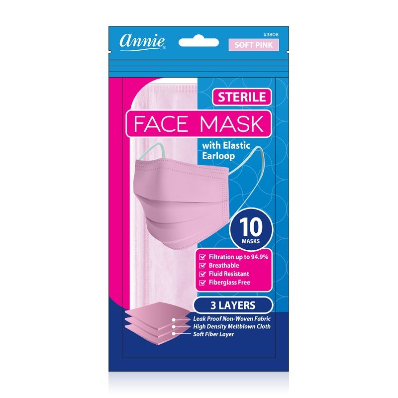 Annie Premium Face Mask with Elastic Earloop