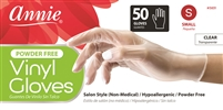 Annie Vinyl Gloves Powder Free, 50 Ct