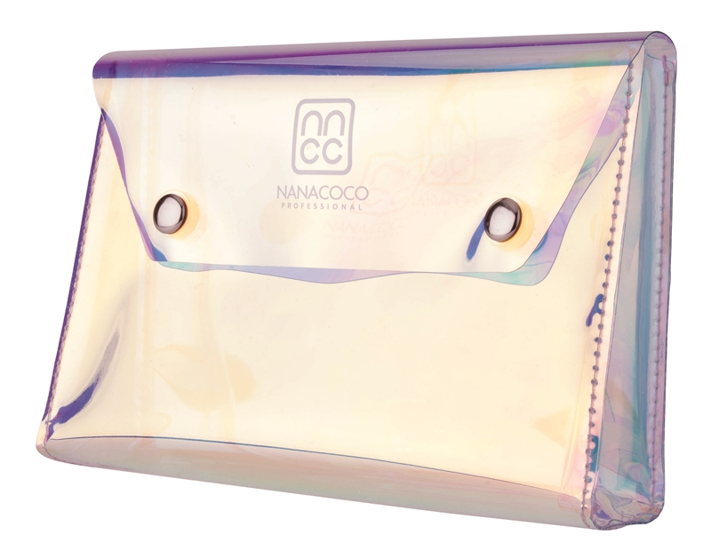 Nanacoco Pro Holographic Makeup Bag with Magnet