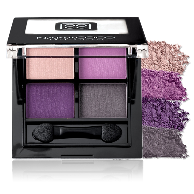Nanacoco Professional Eyeshadow Palette in Vibrant