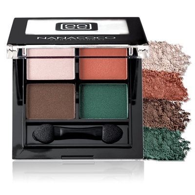 Nanacoco Professional Eyeshadow Palette in retro