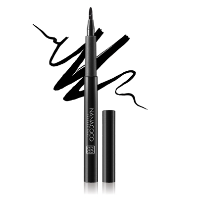 Nanacoco Professional Thick or Thin Liquid Eyeliner in Black