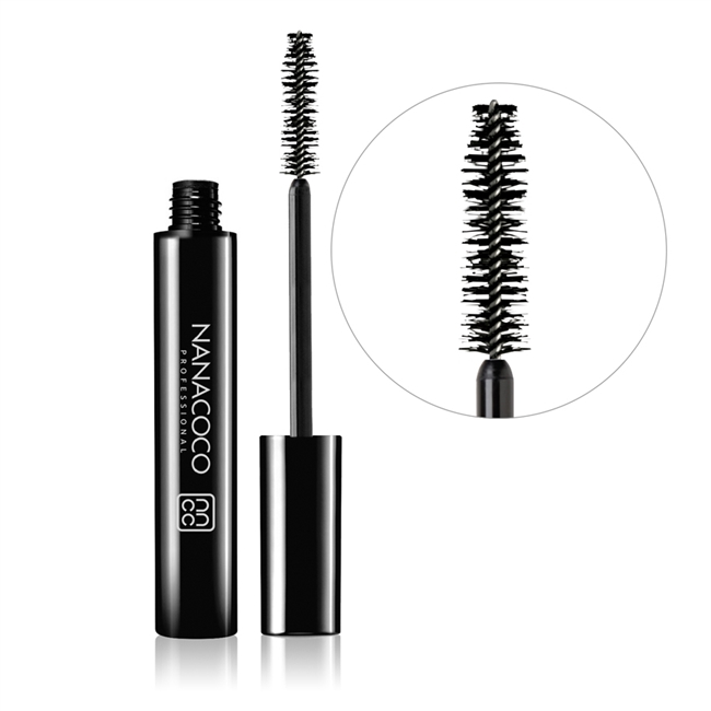 Nanacoco Professional Mascara in Black