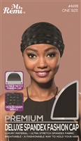 Ms. Remi Hologram Effect Spandex Fashion Cap, Asst Colors