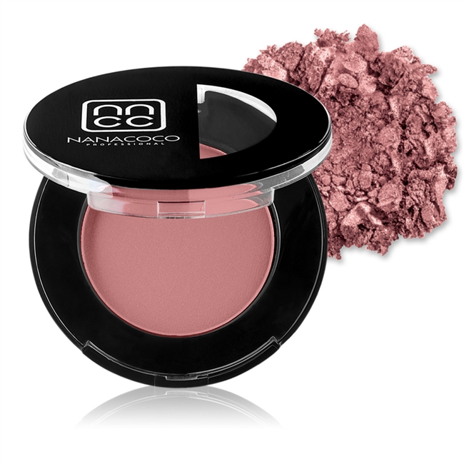 Nanacoco Professional super pigmented and easily blendable blush