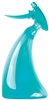 Ozen 20oz Curve Spray Bottle, 600ml, Teal