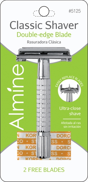 Almine Classic Shaver and Blade