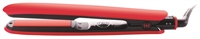 Hot & Hotter Heat Resistant Silicone Grip Ceramic Flat Iron, Pink/Coral