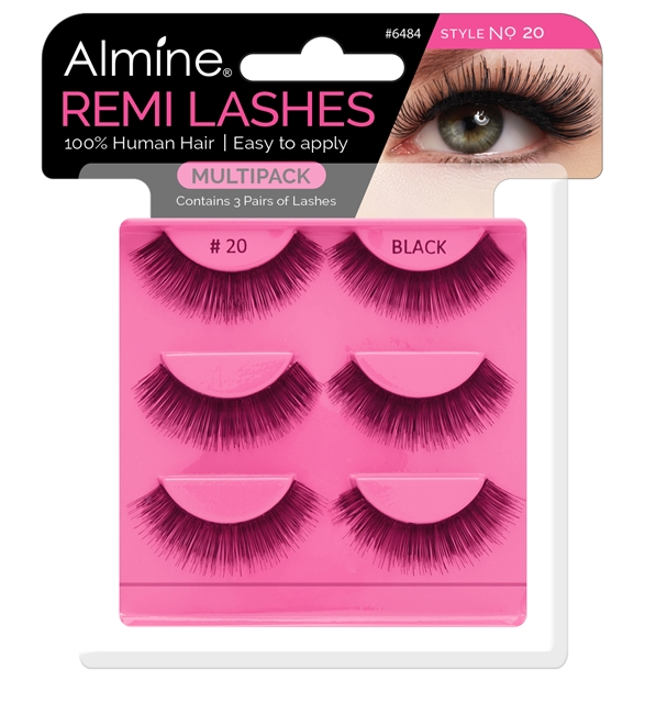 Almine Eyelashes  Multipack (Style No. 20)
