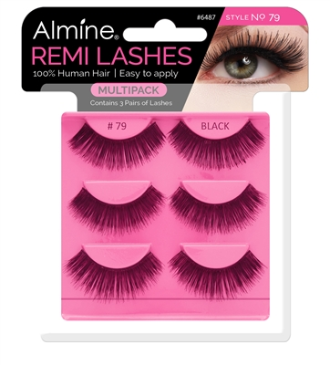 Almine Eyelashes  Multipack (Style No. 79)