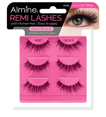 Almine Eyelashes  Multipack (Style No. Wsp)