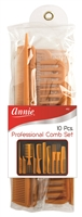 Annie Professional Comb Set, 10ct