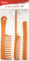 Annie Bone Comb Set  3ct