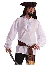 Pirate Cotton Shirt White $16.00 To $20.00
