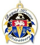 Official Krewe Bead on gold chain