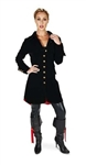 Velvet Jacket Black Pirate  $50.00
