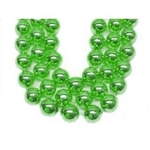 "Bead 48"" 18MM St. Patricks Green Beads Bag Of 12"