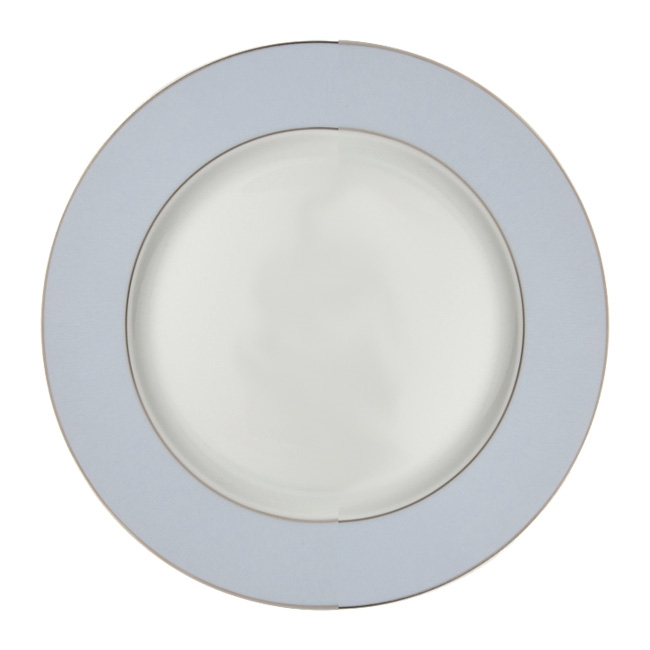 Bernardaud Dune Blue Dinner Plate