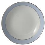 Bernardaud Dune Blue Coupe Soup Plate